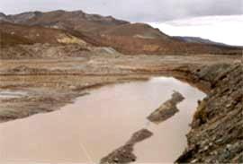 Excavaciones de la empresa Luis Losi S.A. que ante la propuesta de los perjudicados fueron tapadas.