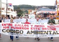 Esquel: nueva marcha del no a la mina