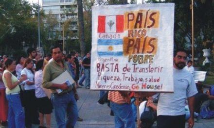 San Juan: jóvenes opuestos a la minería  informaron  y mostraron material a los vecinos