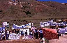 Chubut: el 4 de junio Marchas por NO A LA MINA y abrazo a los bienes naturales