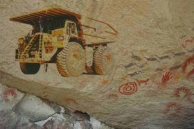Tierra, manos y cianuro: la expansión minera en el noroeste santacruceño