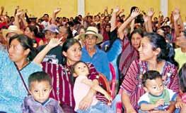 Rechazan minería en consulta popular de municipio guatemalteco