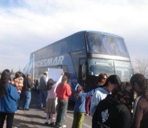 Corte de la Ruta 40 en Mendoza a favor del agua pura