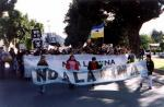 4º aniversario de las marchas del NO A LA MINA en Esquel