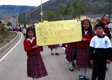Sigsig les dice NO a las mineras transnacionales