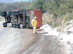 Derrame tóxico e inflamable de 21 mil kilos de nitrato amónico en La Rioja