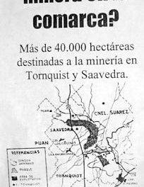 Un «No a la minería a cielo abierto» en la provincia de Buenos Aires