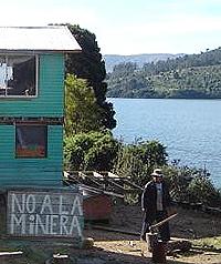 Comunidad Rucañanco, Lago Lleu Lleu.