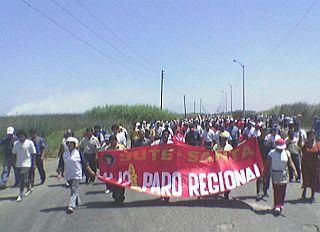 Un adolescente y una anciana muertos durante manifestaciones en Perú