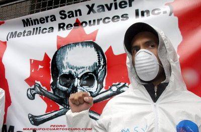 Liberaron en México a estudiantes que protestaban contra explotación del C° San Pedro