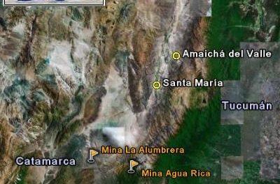 Cortan la ruta contra la minería e informan a turistas