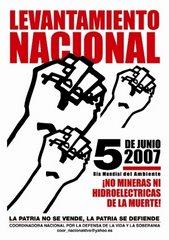 Ecuatorianos continúan lucha contra empresas mineras y profundizan los cortes de caminos