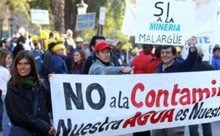 Los diputados mendocinos no trataron la Ley Minera