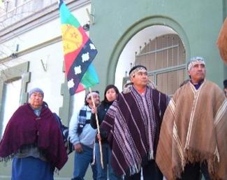 Mapuche se movilizaron en rechazo a petroleras y mineras en sus territorios