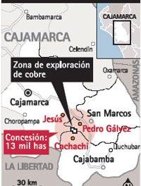 Se movilizan 2.000 campesinos contra minera Vale do Rio Doce en Cerro Mogol