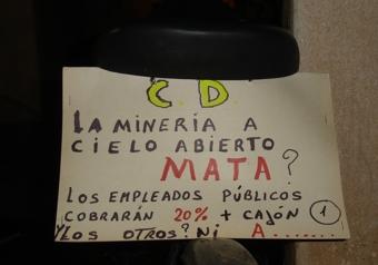 Idea en bicicleta demorada en la comisaría departamental de Andalgalá