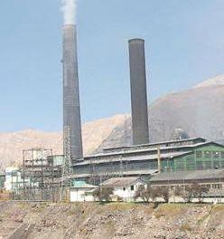 La Oroya sigue entre los diez lugares mas contaminados del planeta