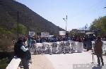 La policía reprimió a manifestantes que cortaban ruta en Aconquija