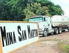 Glamis Gold presentó plan de cierre de mina San Martín