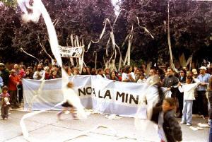 Preparativos en Esquel para celebrar la lucha y el 5º aniversario de la consulta popular que cristalizó el NO A LA MINA