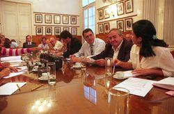 Ministro Loutaif  con los diputados provinciales