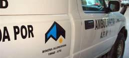 Las ambulancias son donadas por Bajo la Alumbrera.