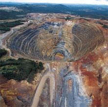 Las mineras, candidatas a ganar el premio «aniquilación al medio ambiente»