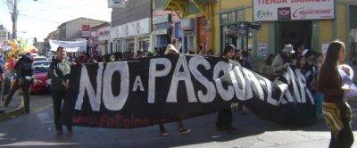 Masiva 5ª marcha por la Vida y el Agua contra proyecto Pascua Lama
