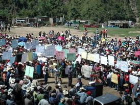 Dos mil vecinos rechazan toda actividad minera en otro municipio de San Marcos