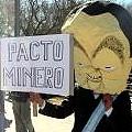 Protesta contra minería contaminante en la Argentina Mining 2008