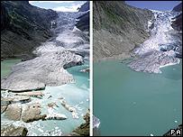 Presidenta argentina decidió aumentar el derretimiento de los glaciares
