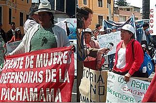 Informaron a comisión legislativa sobre conflictos mineros y rechazo de la nueva ley minera