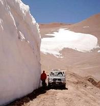 Los glaciares y el tiempo geológico en el imaginario de Eddy Lavandaio.