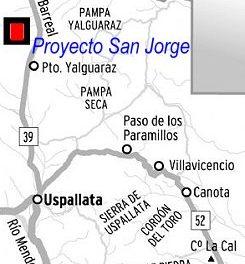 Marcharán contra proyecto minero San Jorge