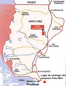 Galeones modernos: La ruta del oro santacruceño