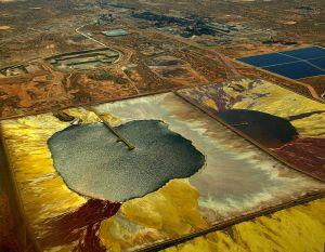 Yacimiento de uranio en explotación en Australia.