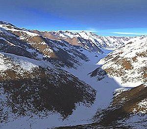 En Chile preocupados por los glaciares
