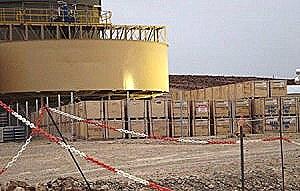 Guía minera para estibar contenedores de cianuro a cielo abierto