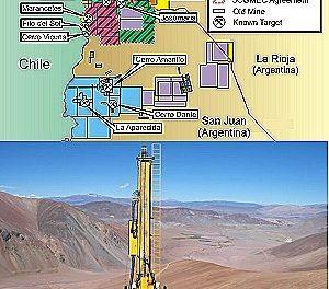 Perforan otro proyecto minero binacional de cobre y oro