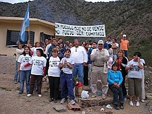 La lucha en Famatina contra la transnacional minera Barrick