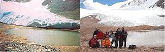 Se enciende la alarma por el achicamiento de glaciar Agua Negra