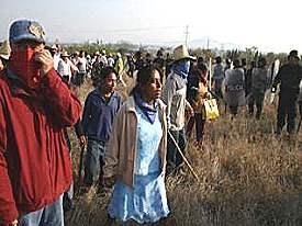 Liberan a opositores de minera en Oaxaca