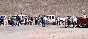 Habitantes de tres ejidos en Zacatecas exigen a minera canadiense cumplir compromisos
