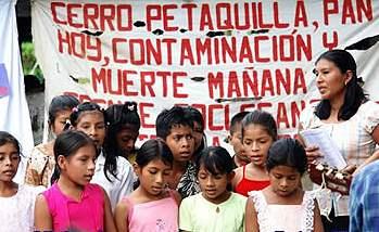 Justicia para los envenenados, no a la mina Petaquilla