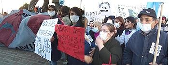 Vecinos del norte santacruceño abrazaron al Gorosito para decir NO A LA MINA
