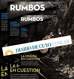 Diario de Cuyo: sus explicaciones por qué no dio circulación a la revista Rumbos
