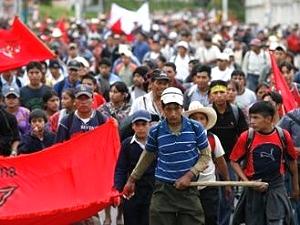 Manifestantes antimineros fueron recibidos por presidente de Guatemala