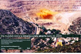 Convocan desde México a día mundial contra la minería a cielo abierto