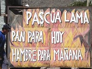 Marcharon en San Juan contra Pascua Lama