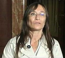 Carolina Scotto, rectora de la Universidad Nacional de Córdoba, Argentina.